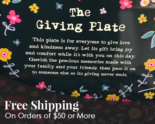 Free Shipping - On Orders of $50 or More