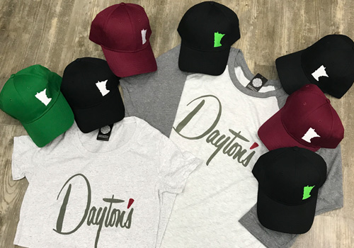 Baseball Shirts and Hats